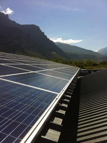Installation solaire - Toiture bâtiment agricole