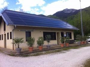 Installation panneaux solaire Camping Le Chatelard