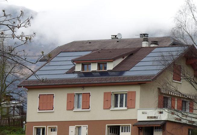 Installation solaire photovoltaïque Puygros
