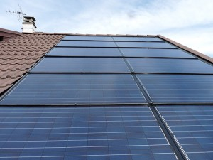 Installations solaire centrale Villageoise Perle