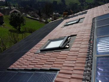 Electricité solaire Petit-Bornand