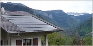 Panneaux solaires Thorens les Glières