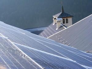 Toiture panneaux solaire BONNEVAL SAVOIE