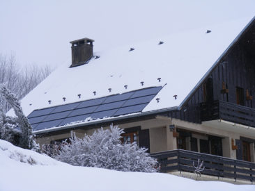 Installation solaire Jarrier