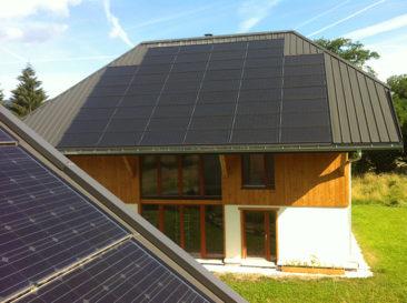 Installation solaire la Motte en Bauges
