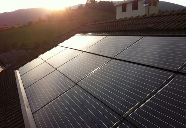 Installation panneaux photovoltaïques Lathuile
