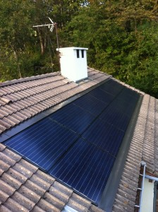 Installation solaire Lathuile particulier