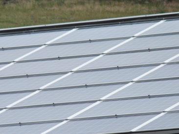 Installation photovoltaïque sur toiture agricole Savoie
