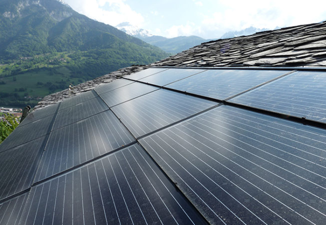 Panneaux solaire AIgueblanche