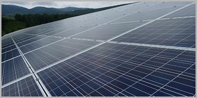 Lescheraines panneaux solaires