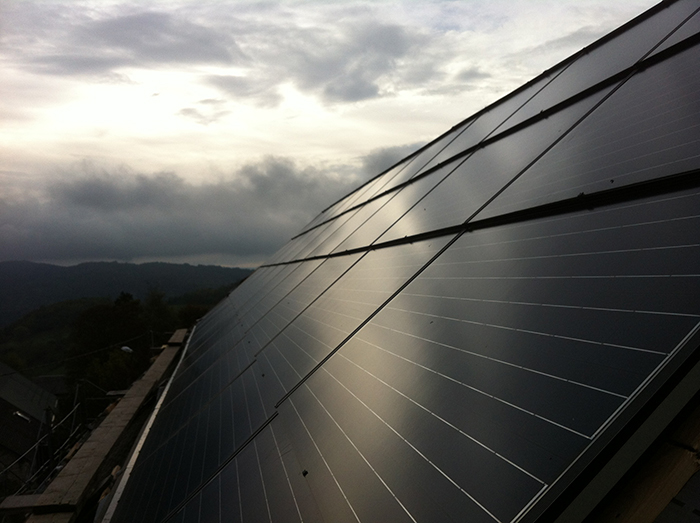Installation solaire Centrales Villageoises Perle