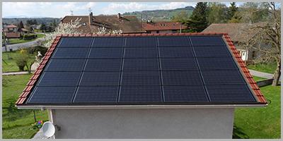 Bons en Chablais panneaux solaire photovoltaïques