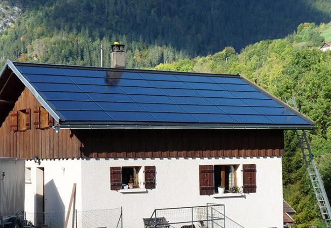 Photovoltaïque Petit-Bornand les Glières