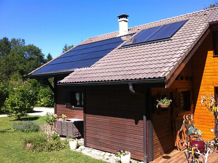 Panneaux solaire Aviernoz
