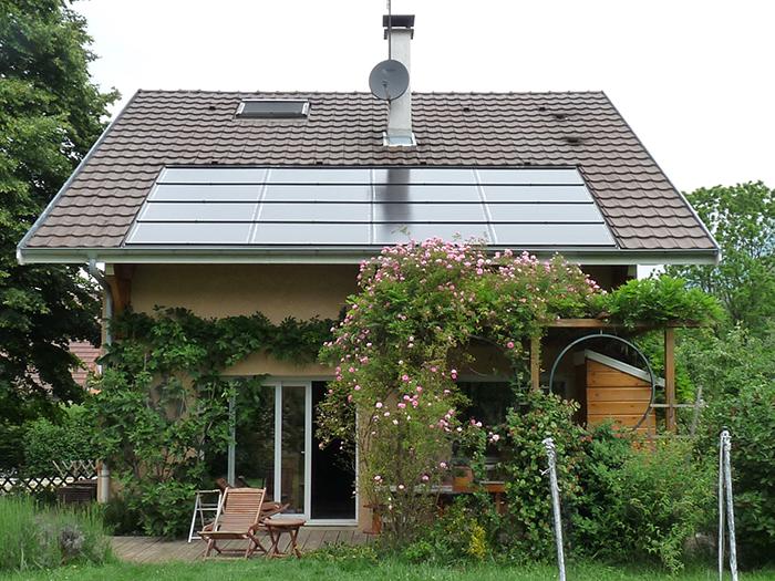 Panneaux solaires Dousard Annecy