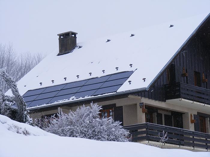 Jarrier Savoie Panneaux solaire