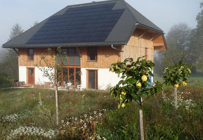 Installation solaire photovoltaïque La Motte en Bauges