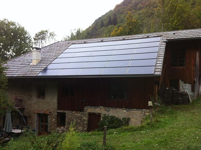 Installation toiture panneaux solaire