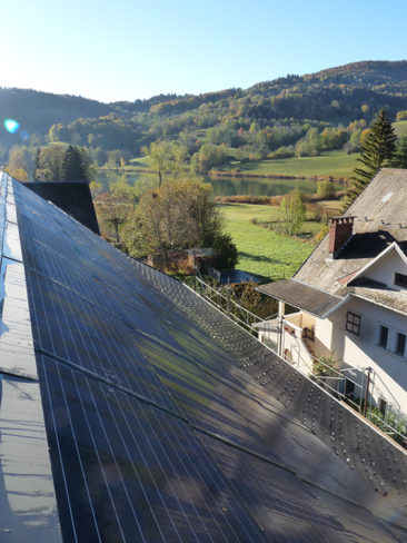 Installation PV Lathuile