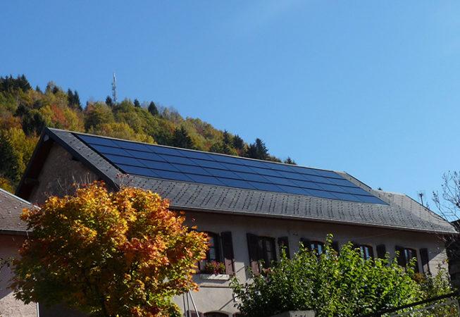 Centrale solaire La Villageoise Perle