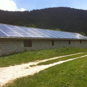 Le Châtelard Panneaux solaire