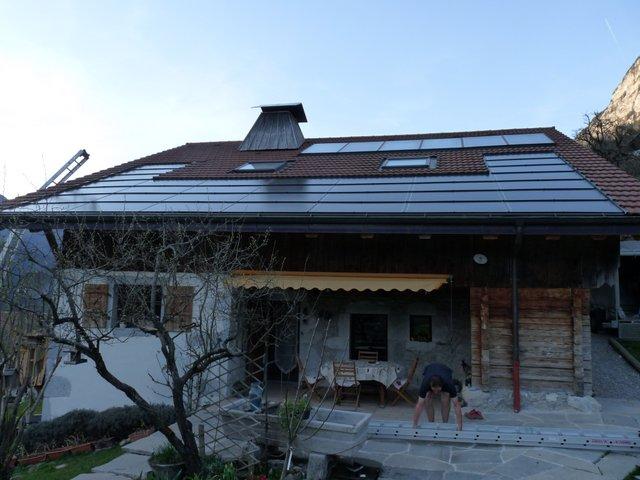 Electricité solaire le Petit-Bornand