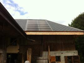 Panneaux photovoltaïques maison individuelle LESCHAUX