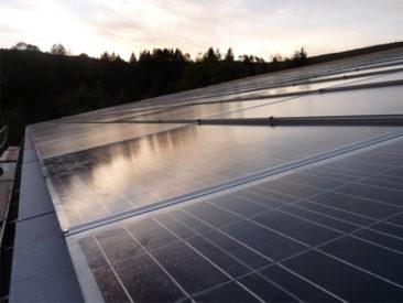 Installation solaire grande toiture