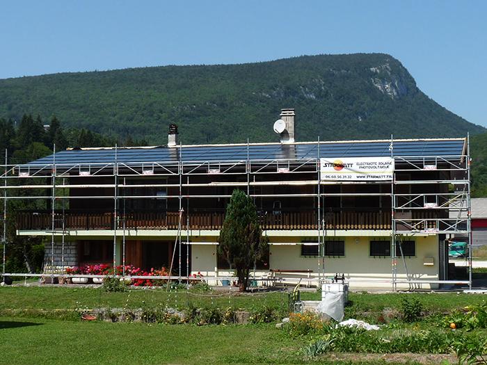 Panneaux solaires photovoltaïques Savoie