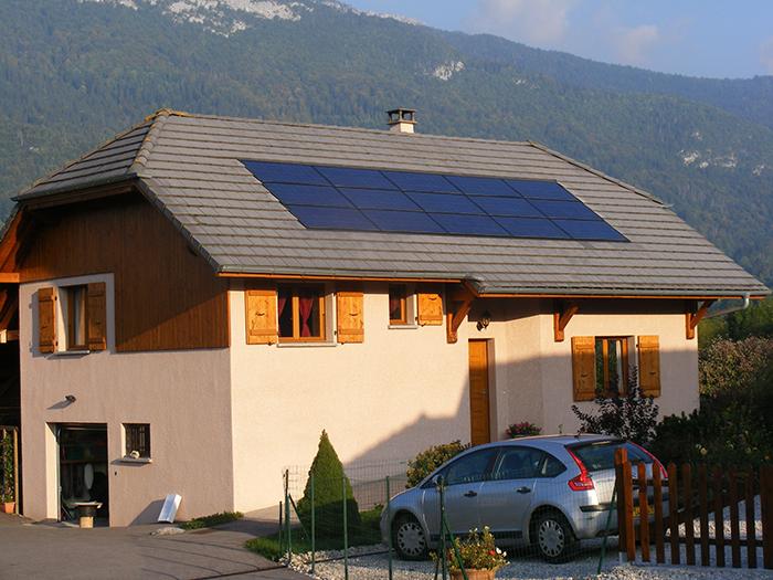 Installation solaire particulier Lescheraines SAvoie