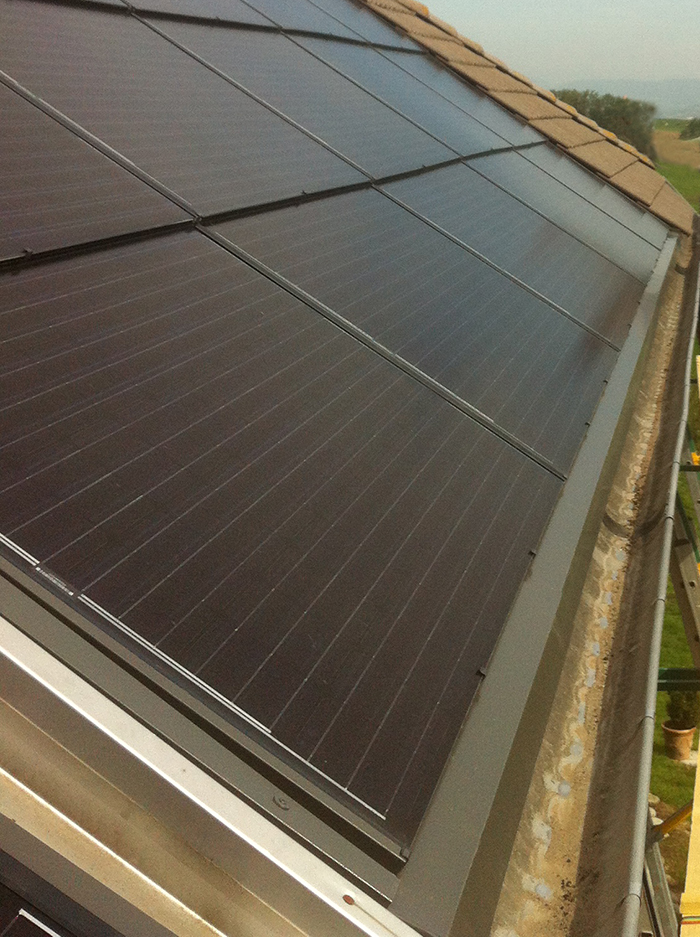 Installation solaire Rumilly