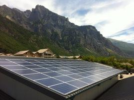 Installation solaire - Toiture bâtiment