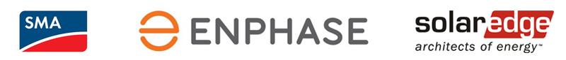 logo-sma-enphase-solaredge-produits-qualites